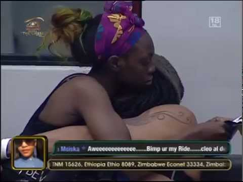 Eat chocolate- Big Brother Africa The Chase