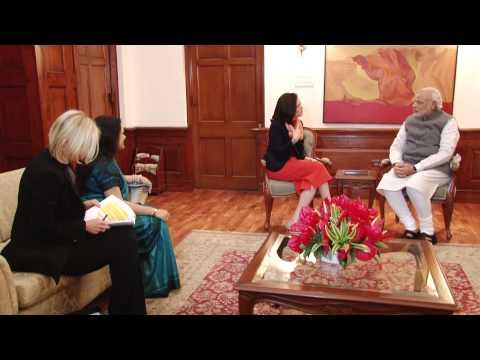 Facebook COO Sheryl Sandberg meets PM Narendra Modi