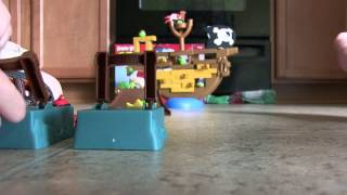 ANGRY BIRDS GO! PIRATE SHIP! J.J. JUST GOT IT!