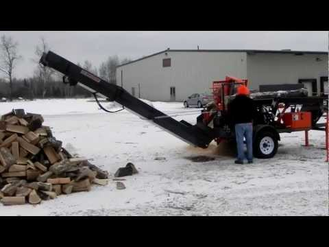 New 2012 Multitek 1610EZ Firewood Processor