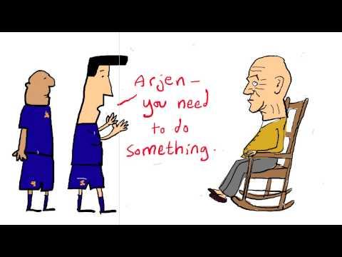Arjen Robben - football's fastest pensioner
