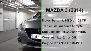 TEST Mazda 3 2014 by buhnici.ro