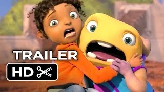 Home Official Trailer #1 (2014) - Jennifer Lopez, Rihanna Animated Movie HD