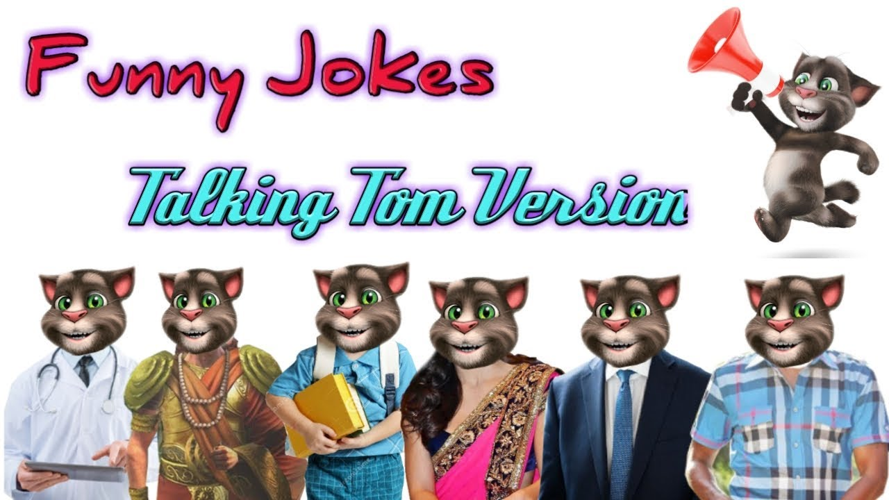 Funny jokes by Talking Tom Version | comedy Series#5
