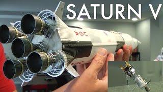 SATURN V ROCKET Apollo 13 edt. Bandai Tamashii Nations 1/144 scale NASA April. 11, 1970