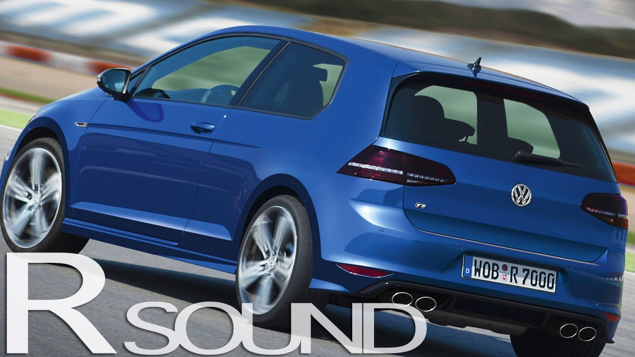 new vw golf r mk7 sound launch control acceleration awesome youtube. Black Bedroom Furniture Sets. Home Design Ideas