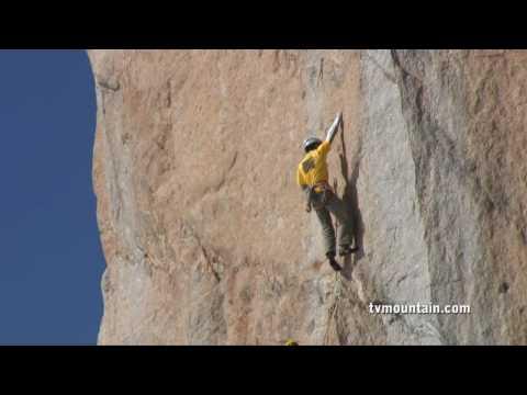 David Rastouil, 8a+ a 3800 mt. Mont-Blanc