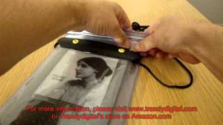 Using Kindle 3 In TrendyDigital WaterGuard Waterproof Case