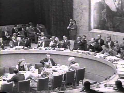 Egypt Accepts UN Cease-Fire 1967