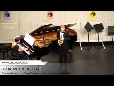 Dinant 2014 - SKIBA Anton (Concierto Capriccio by Gregori Markovich Kalinkovich - Version DINANT)