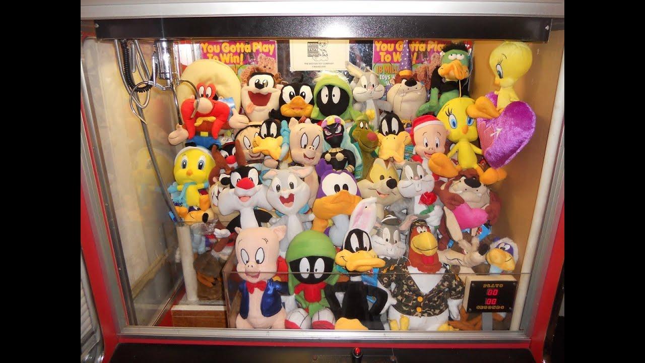 stuffed animal claw machine for sale