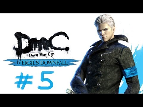 [DMC] - Devil May Cry :Vergil's Downfall No Commentary Stage 5 (BOSS FIGHT: HOLLOW VERGIL)