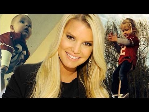 Jessica Simpson Shares Cute Candid of Eric Johnson Holding Their Kids!