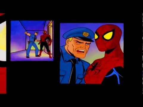 spiderman the new animated series intro superheroes video