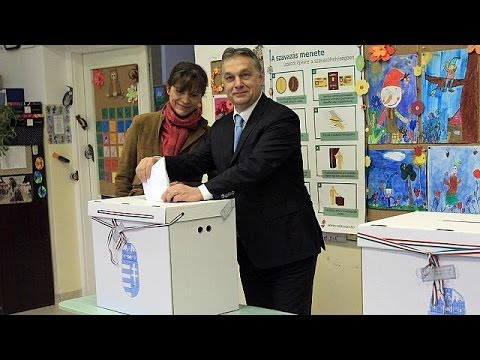 Hungarian PM Viktor Orban calls on country to cast their votes