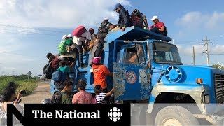 The chaotic reality of the migrant caravan