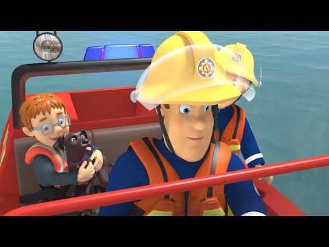 Požárník Sam - Záchrana u řeky