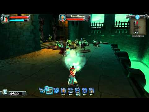 Orcs Must Die! Wind Belt Spotlight HD video game trailer - PS3 X360 PC