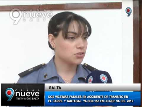 ACCIDENTES CON VICTIMAS FATALES