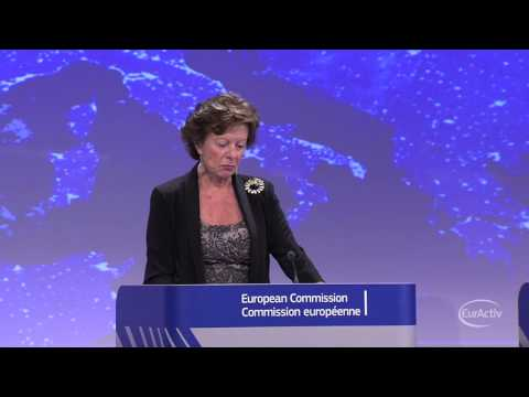 Neelie Kroes on 'Connected Continent""
