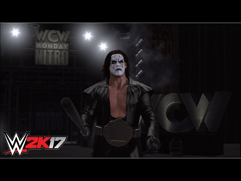 WWE 2K17 - Sting vs.