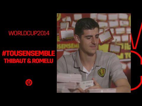 #iedereenmee #tousensemble : Romelu & Thibaut