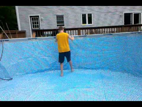 Intex Pool Ultra Frame New Part 2 Youtube