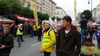 Антиурядовий протест профспілок у Польщі