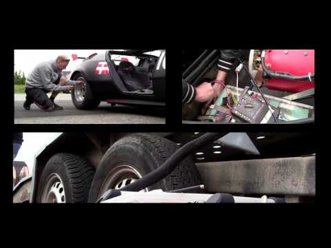 World record electric powered car 2013