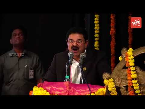 Chairman Karunakar Madhavaram Speech at Grand Gala