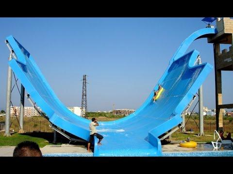 Rubber Ring Water Slide