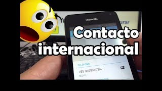Como Agregar Contacto Internacional En Whatsapp Huawei