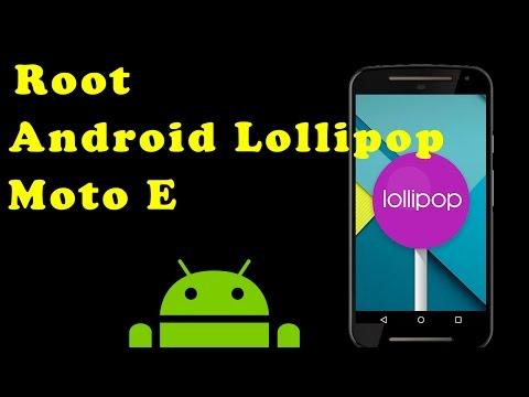 Como hacer Root Moto E con Android Lollipop