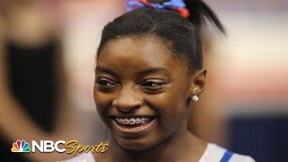 Simone Biles at 16 years old: A star in the making   NBC Sports
