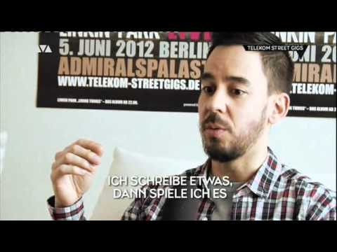 Telekom Street Gigs 2012 - Intro & Interview w/ Mike Shinoda & Chester Bennington (Viva Source)