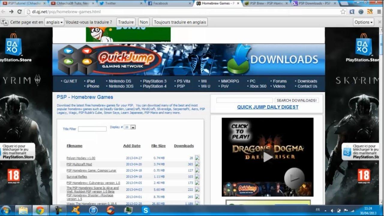 Top 3 meilleurs sites pour t l charger des homebrew - Meilleurs sites de ventes privees ...