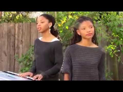 Lyrics - A Great Big World Christina Aguilera's 'Say Something' cover by Chloe & Halle Bailey