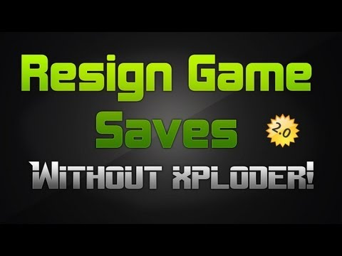 [PS3] How to Resign Game Saves without Xploder | Voice Tutorial [UPDATED]