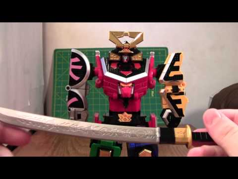 Super Sentai Shinken-oh Review (Power Rangers 20th Anniversary Toys R Us Exclusive)