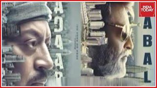 Poster War Between Rajinikanth's Kabali And Irfaan Khan's Madaari