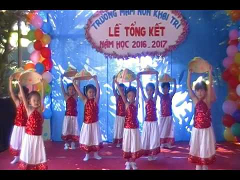 Canh dong tuoi tho MN Khai Tri