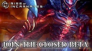 Rise of Incarnates - PC - SDCC Beta Announcement Trailer