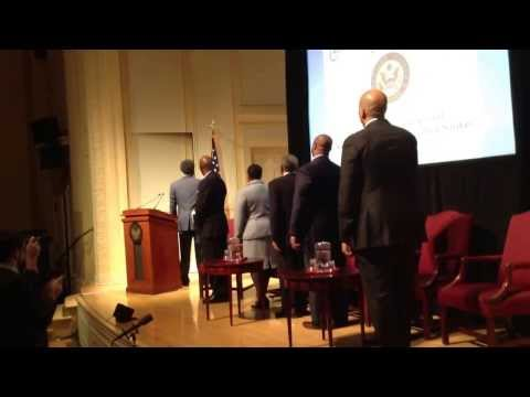 Pledge of Allegiance at U.S. Senator Tim Scott's Black History Event Today