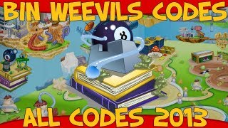 Bin Weevils ALL Codes For Mulch, Nest Items And XP 2013