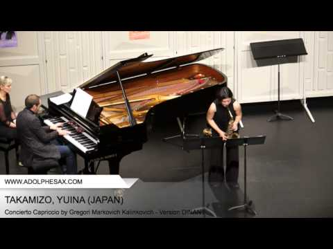Dinant 2014 TAKAMIZO Yuina (Concierto Capriccio by Gregori Markovich Kalinkovich Version DINANT )