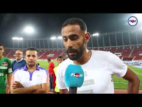 لاعب الفتح مهدي الباسل في تصريح قبل المباراة