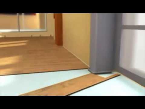 laminatboden verlegen laminat installation und profilierung youtube. Black Bedroom Furniture Sets. Home Design Ideas