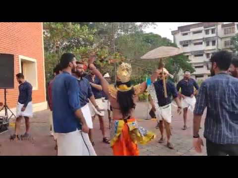 Onam funny dance by Manipal Institute of Management