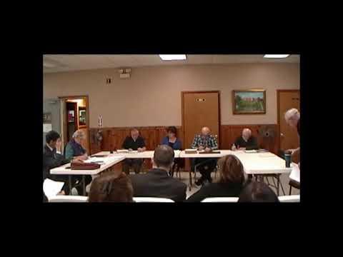 Altona Town Board Meeting 1-14-13