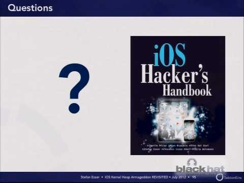 Blackhat 2012: iOS Kernel